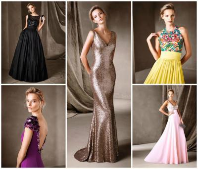 PRONOVIAS vasarą pasitiko su nauja vakarinių suknelių kolekcija!