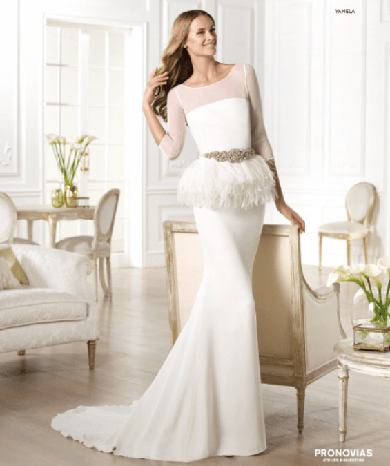 Yanela vestuvinė suknelė