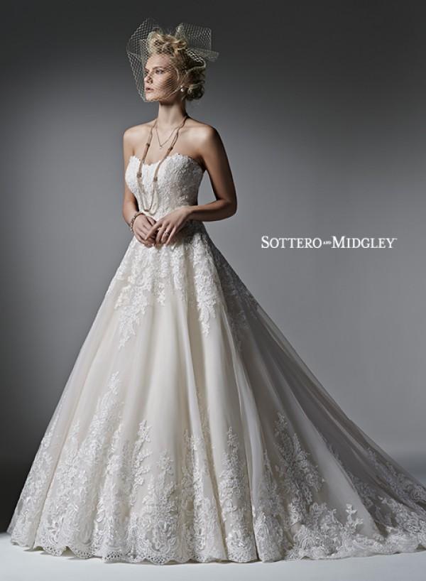 Zelinda vestuvinė suknelė