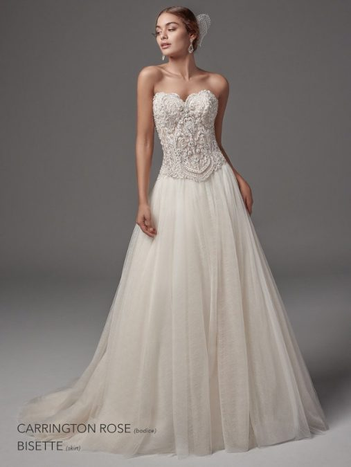 Carringtone Rose – Bisette wedding dress