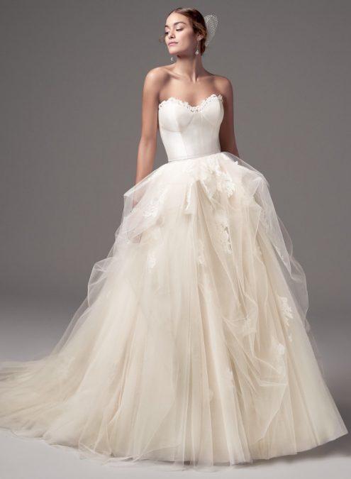 Foster Rose vestuvinė suknelė