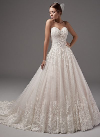 Jewel wedding dress