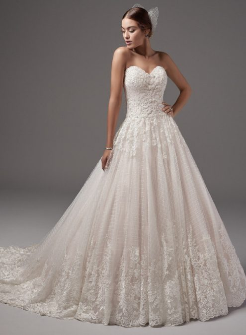 Jewel wedding dress