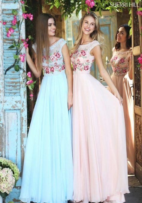 Proginė suknelė Sherri Hill 51249