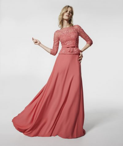 Glaciar evening dress