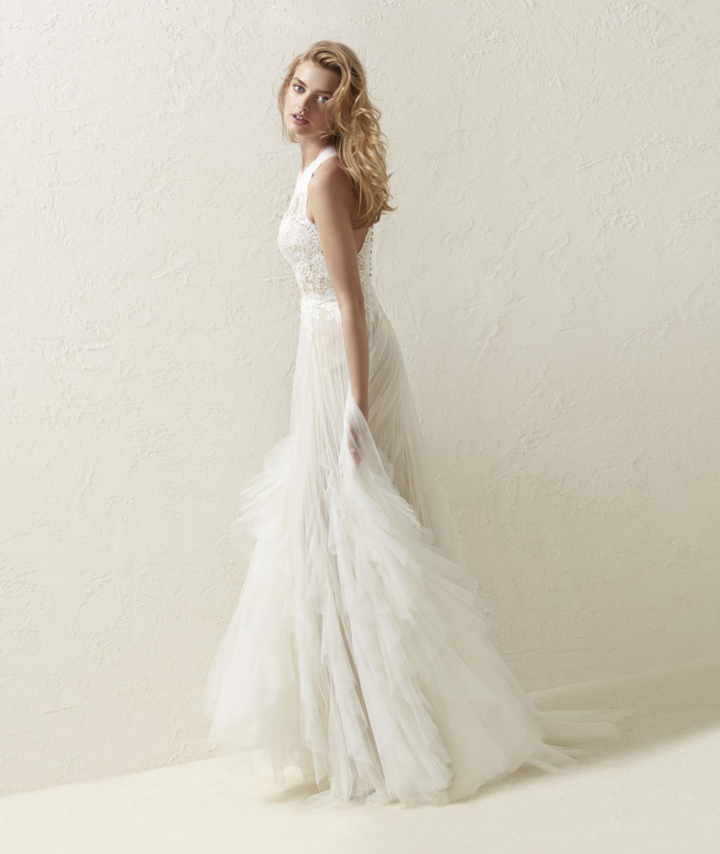 vestuvines sukneles pronovias draconia c