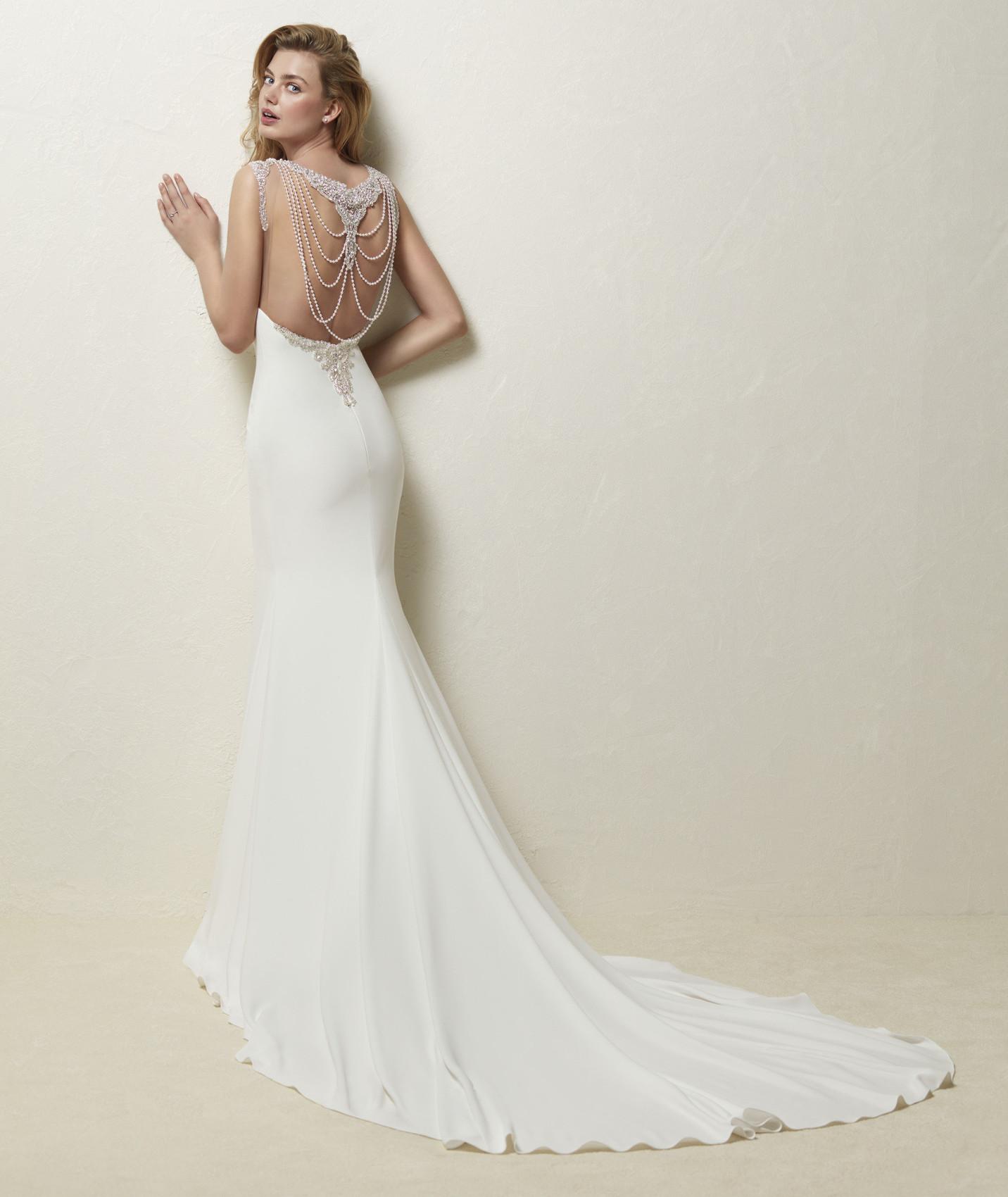 vestuvines sukneles pronovias dravidia b