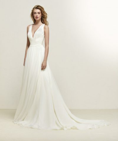 Dresden wedding dress