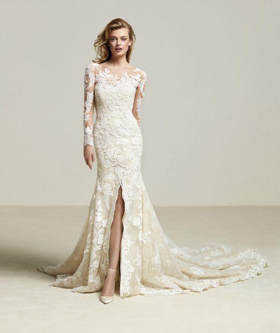 Driate vestuvinė suknelė