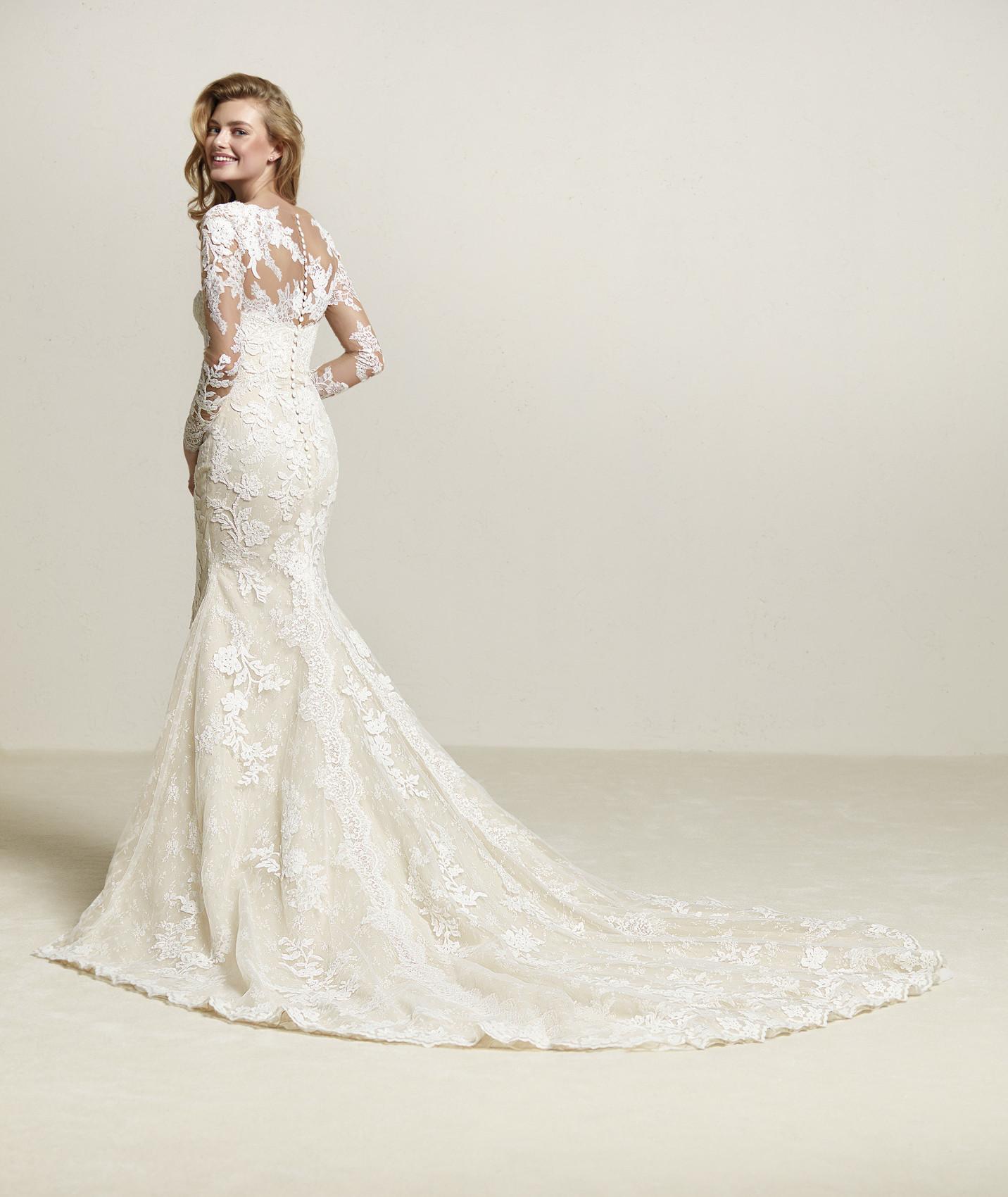 vestuvines sukneles pronovias driate b