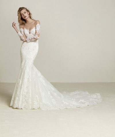 Drilia wedding dress