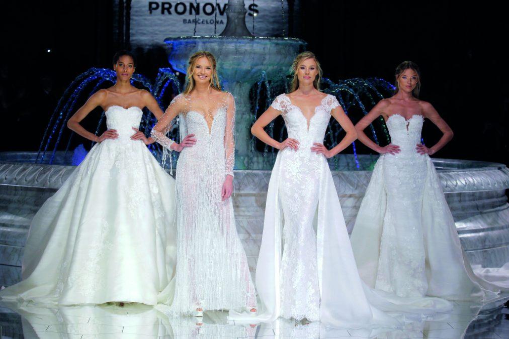 #PronoviasFashionShow WISH ir Atelier PRONOVIAS 2018 vestuvinių suknelių kolekcijos pristatymas