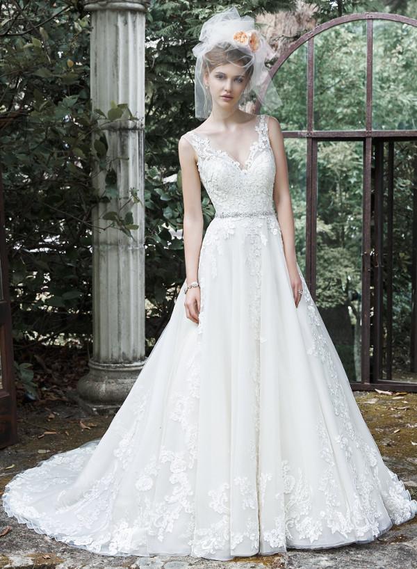 vestuvines sukneles maggie sottero sybil