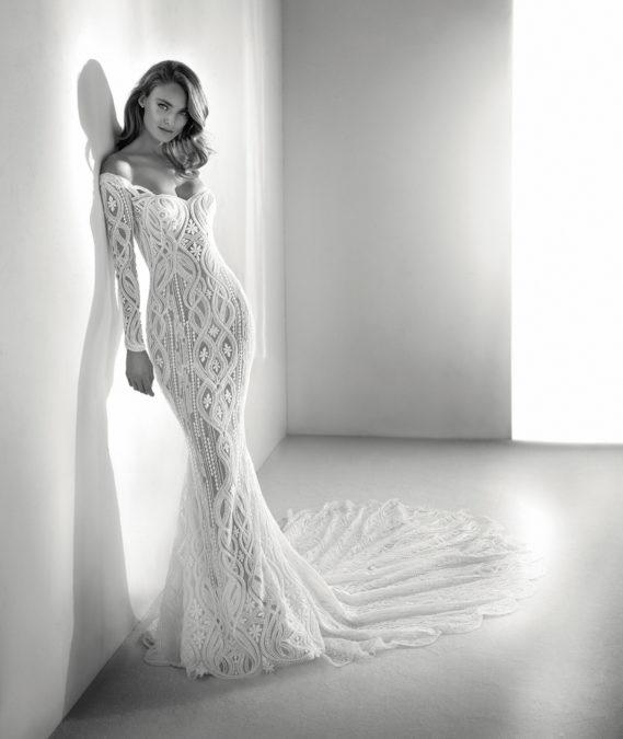 Royal vestuvinė suknelė