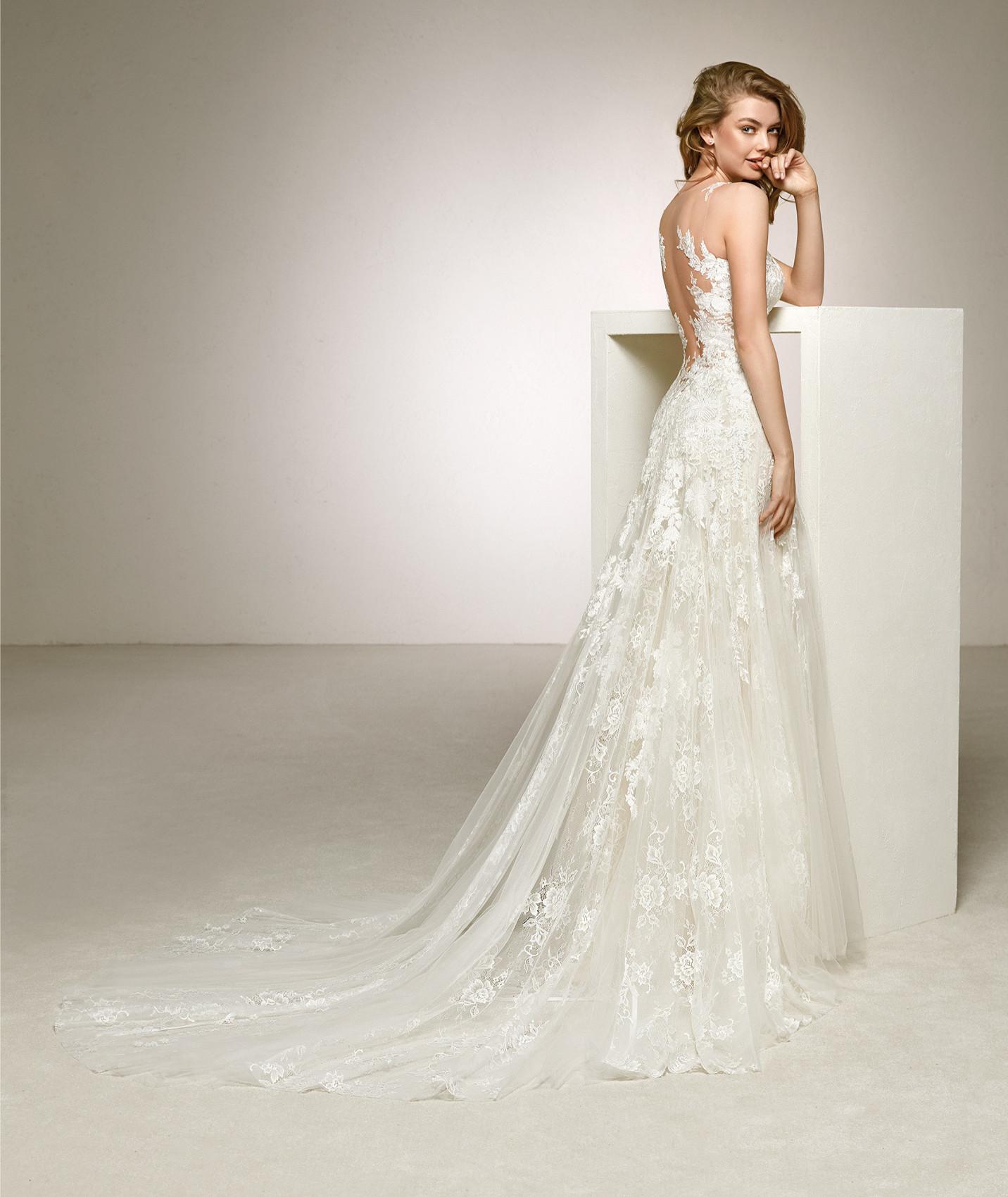 vestuvines sukneles pronovias dalia b