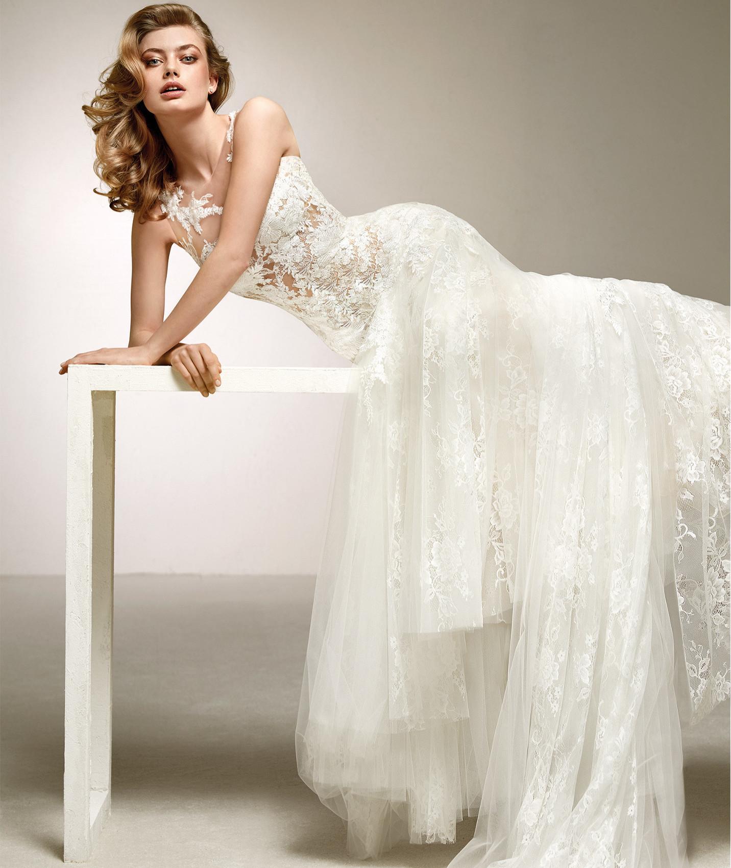 vestuvines sukneles pronovias dalia c