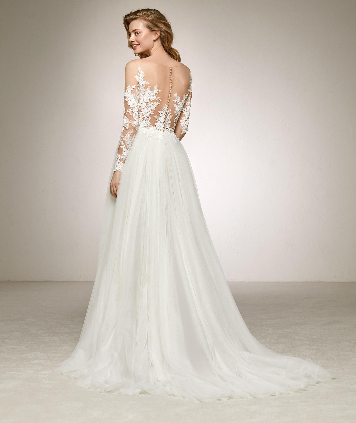 vestuvines sukneles pronovias datil b