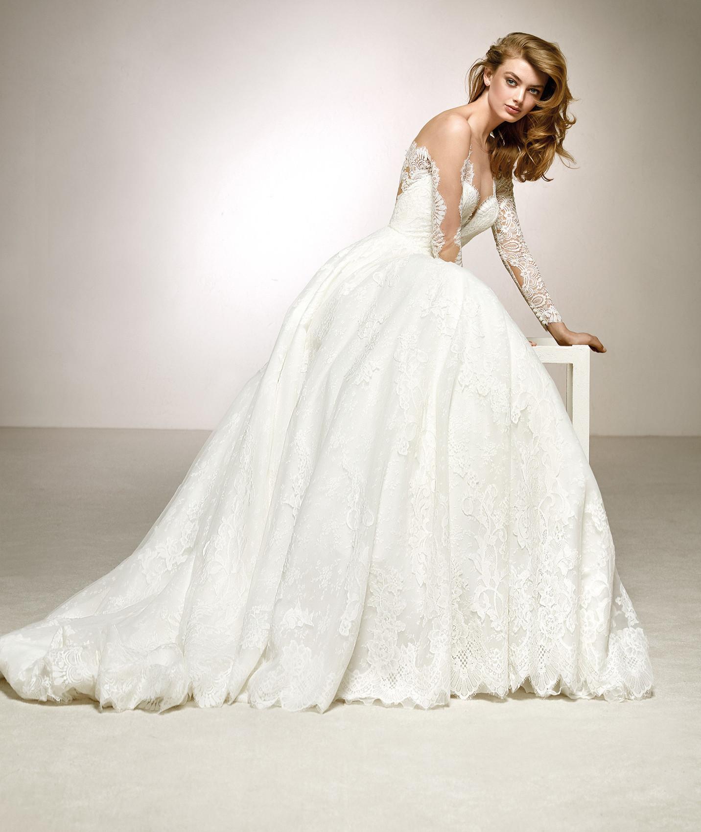 vestuvines sukneles pronovias digna c