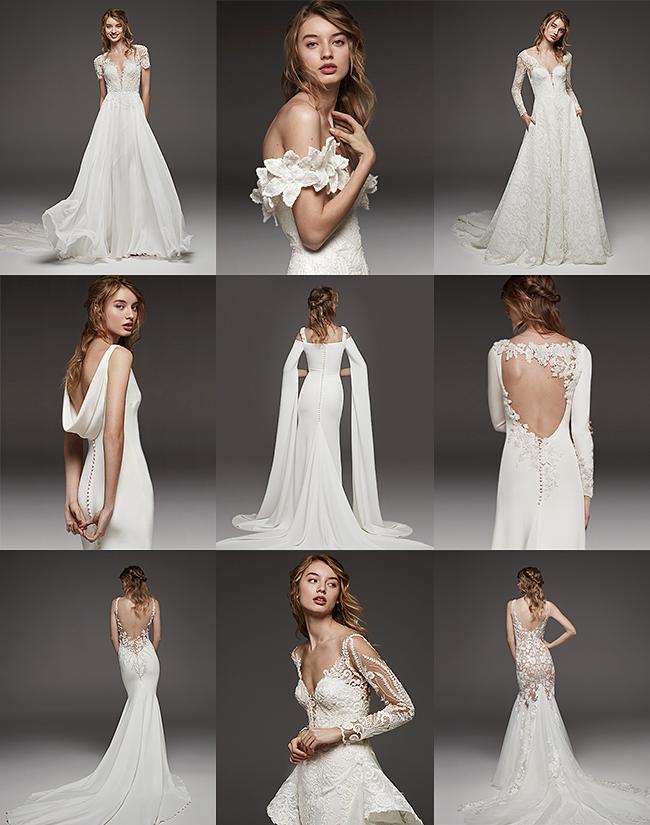 Atraskite PRONOVIAS ir Atelier PRONOVIAS 2019 prieš vestuvinių suknelių kolekcijas-1