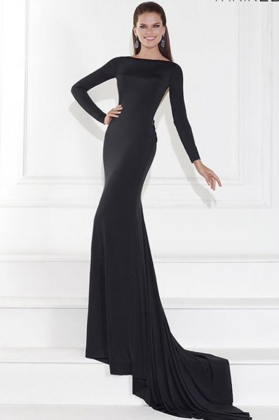 Tarik Ediz evening dress 92594
