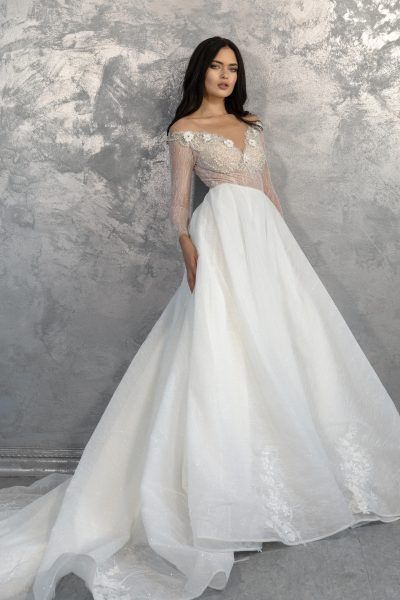 NS B-02 wedding dress