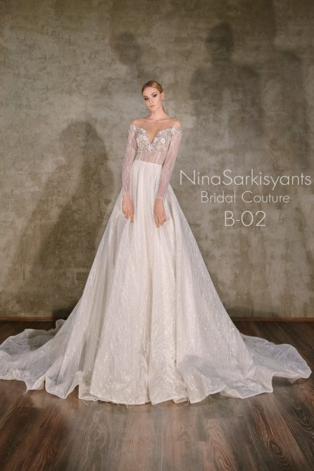 NS B-02 vestuvinė suknelė