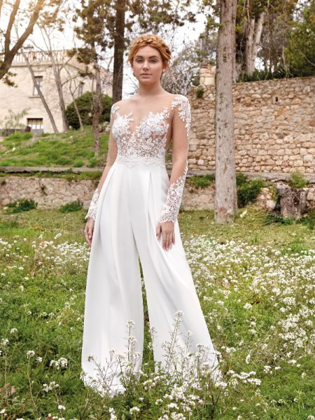 Paris wedding jumpsuit
