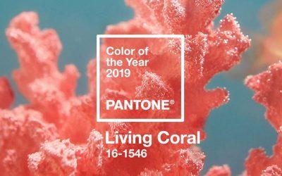 """2019 metų spalva pagal """"Pantone"""" – koralinė"""