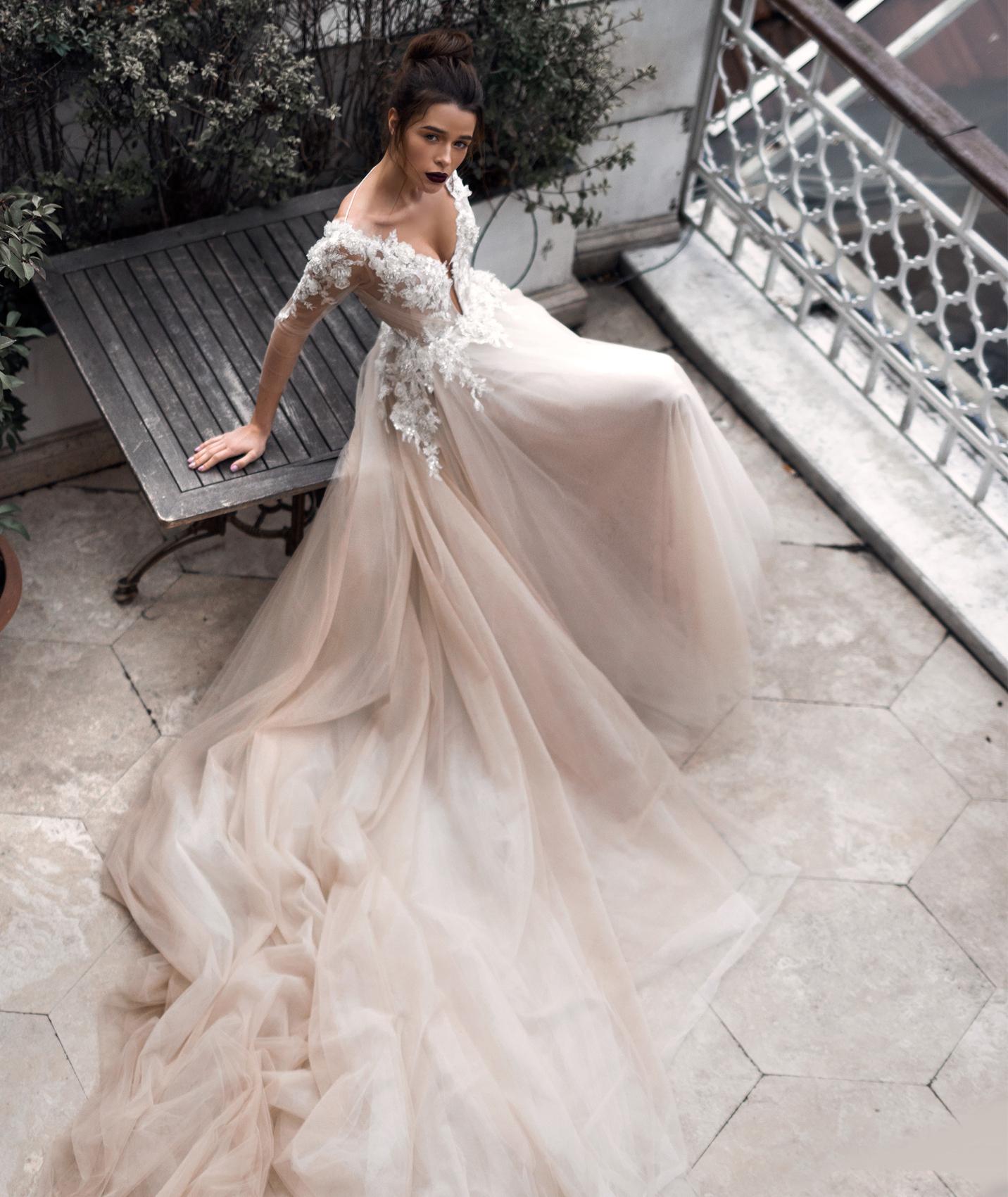 YolanCris Свадебные платья