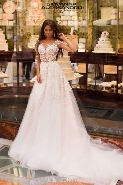 Donata wedding dress