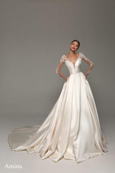Amina vestuvinė suknelė