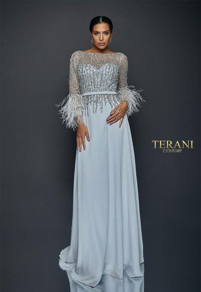 Evening dress Terani couture 1921m0473
