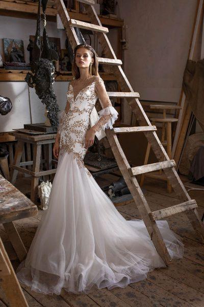 Pleiferi vestuvinė suknelė