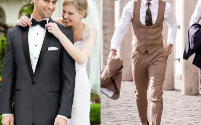 Vyriški vestuviniai kostiumai: ką tendencijos mums paruošė 2020-ais?