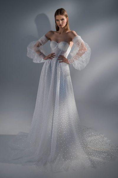 Abba vestuvinė suknelė