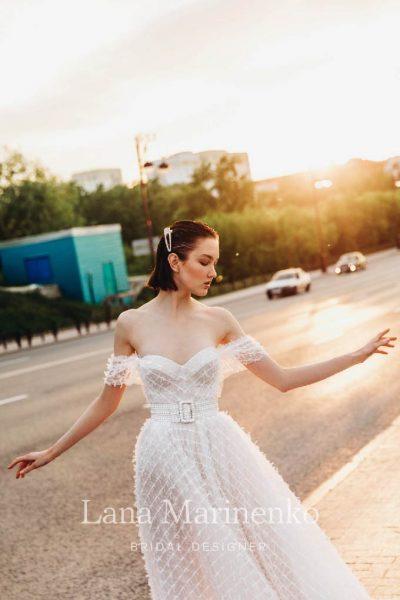 Caspi vestuvinė suknelė
