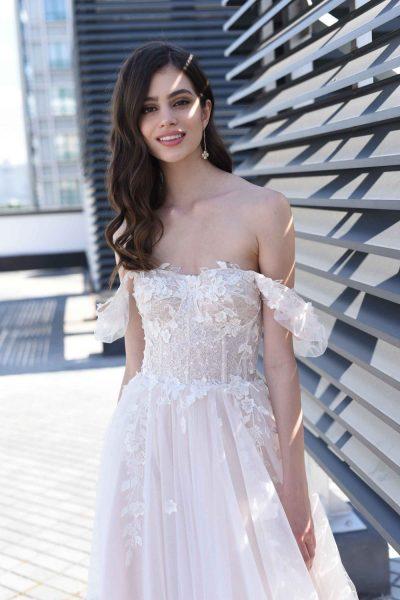 Uva vestuvinė suknelė