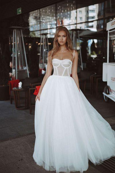 Yang Var wedding dress