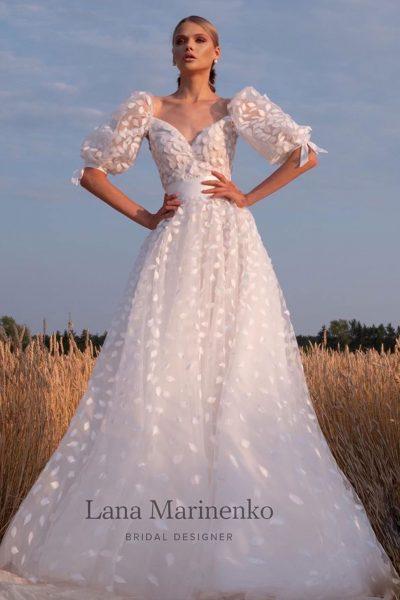 Flower vestuvinė suknelė