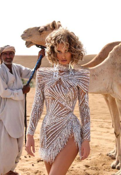 Proginė suknelė Deserte