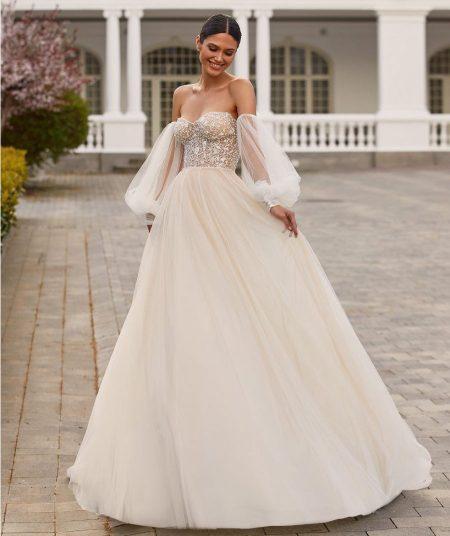 Drew vestuvinė suknelė