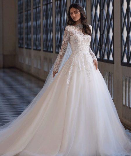 Landis vestuvinė suknelė