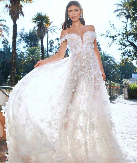 Almaha vestuvinė suknelė