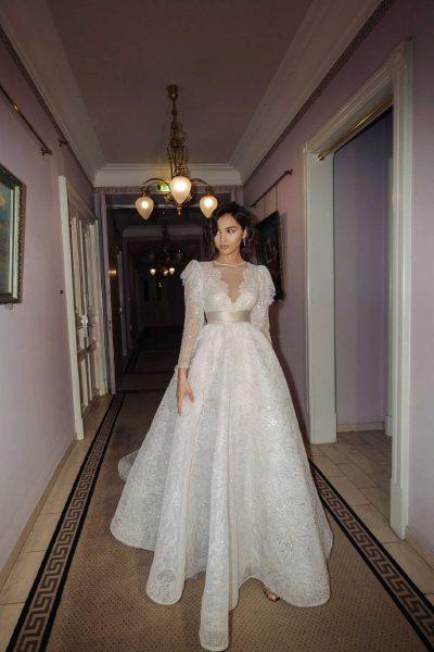Tokyo + London vestuvinė suknelė