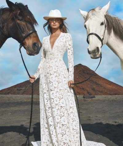 Moraine vestuvinė suknelė